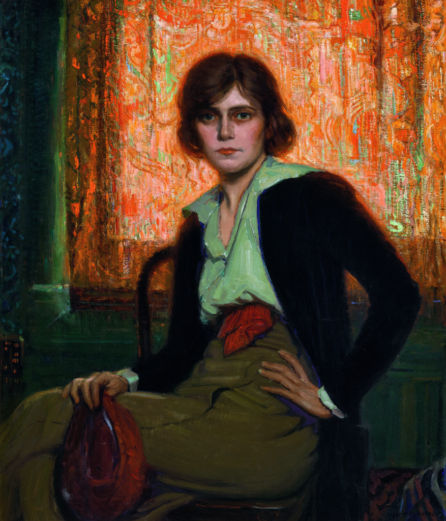 Joseph Kleitsch, Miss Ketchum, c. 1918. Oil on canvas, 42 x 36 inches. Private Collection