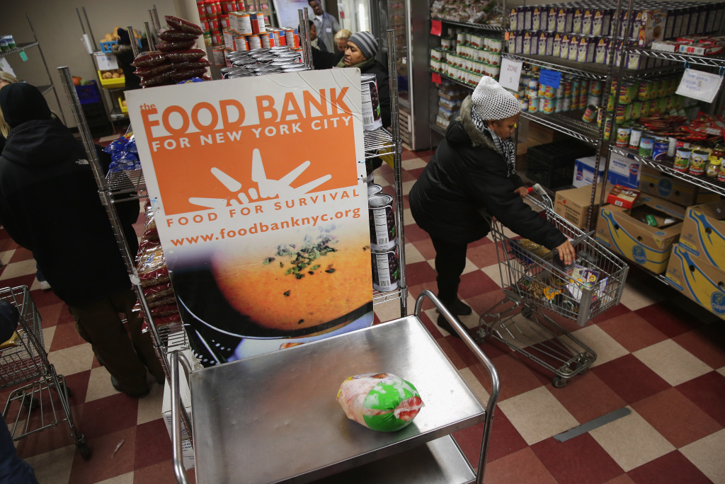The legislation includes $450 million to boost inventories at the nation's food banks, which are already hurting from increased demand.