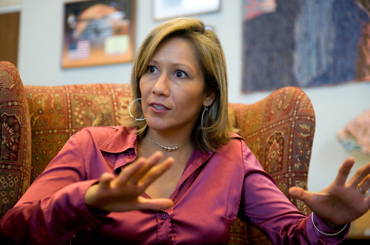 Amanda Renteria was the first Latina to serve as chief of staff to a U.S. Senator.