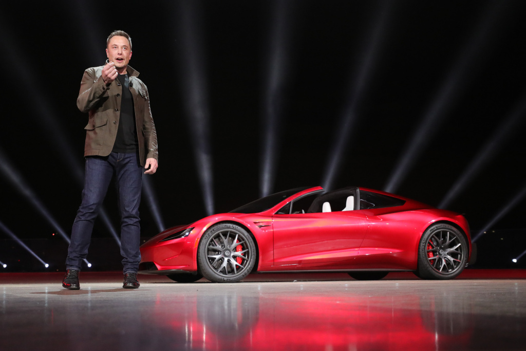 The Tesla Roadster will be the fastest production car ever built, Elon Musk says, with a 0 to 60 mph acceleration time of 1.9 seconds.