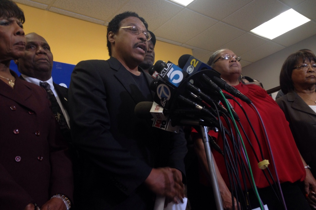 Leon Jenkins, President of the Los Angeles branch of the NAACP.