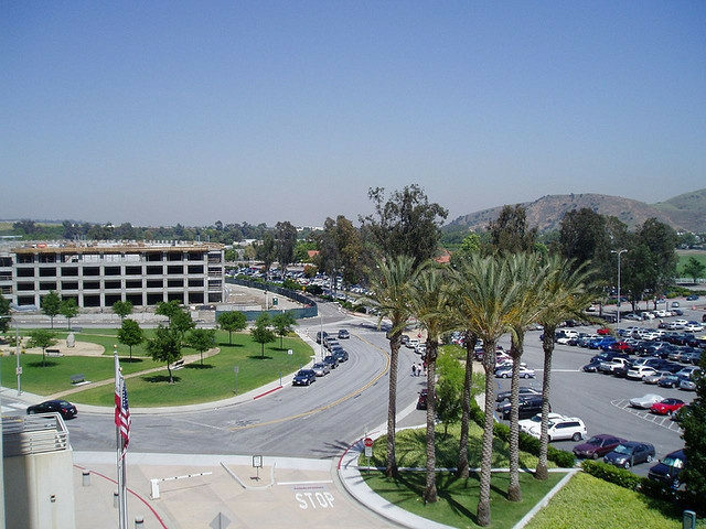 The Cal Poly Pomona campus