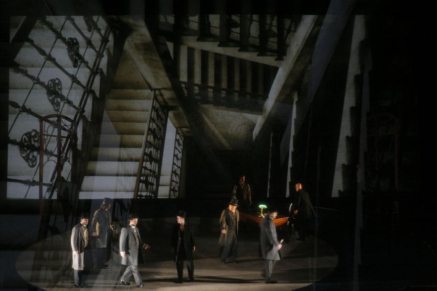 """The LA Opera's 2010 dress rehearsal for Franz Schreker's not quite forgotten 3-hour masterpiece, """"Die Gezeichneten,"""" or """"The Stigmatized."""