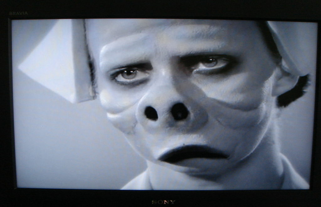 A still from the classic Twilight Zone episode