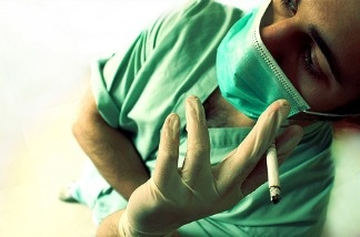 Hospitals are increasingly saying no to hiring smokers.