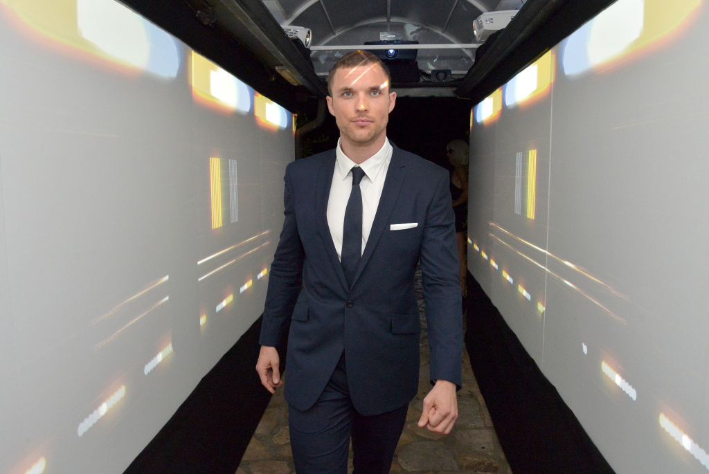 Actor Ed Skrein attends a Special Screening and After-Party for EuropaCorp's 'The Transporter Refueled' held at the Playboy Mansion on August 25, 2015 in Los Angeles, California