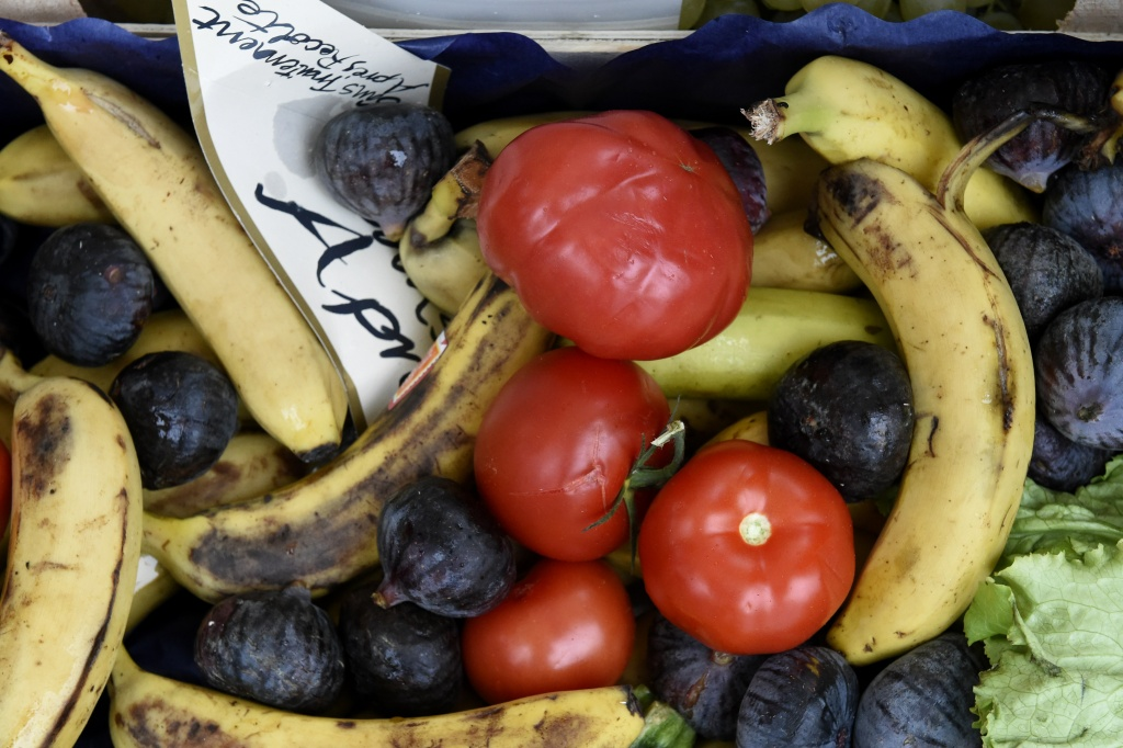 Fruits and vegetables judged ugly by mass market retailers, are pictured during