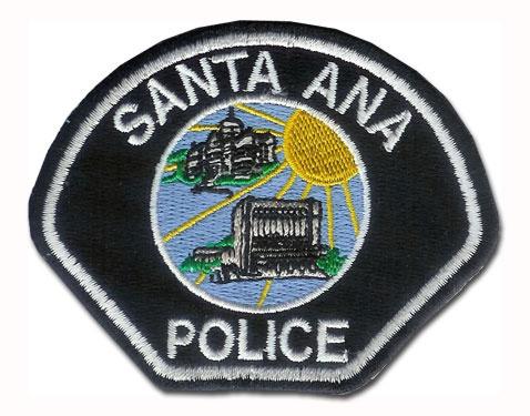 Santa Ana police logo