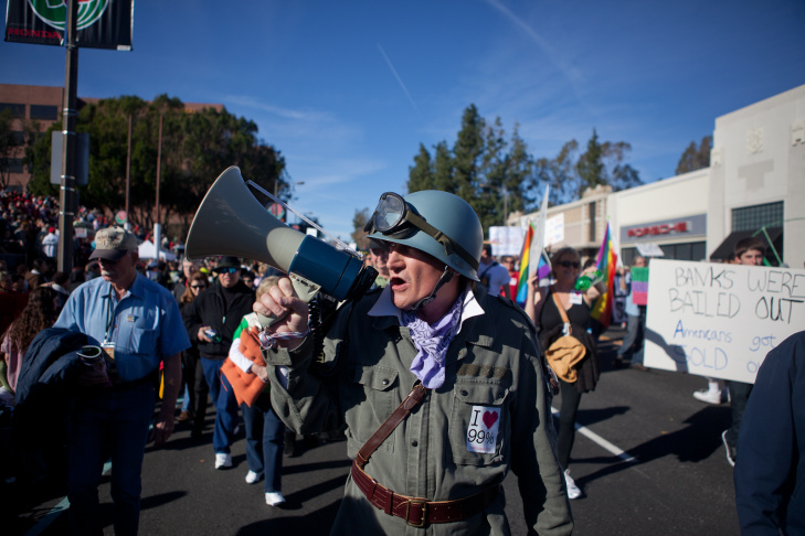Occupy Rose Parade