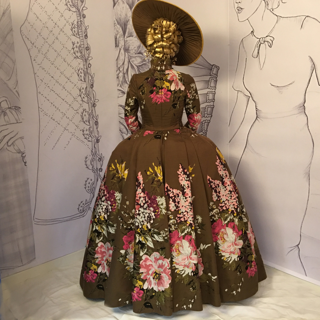 A costume designe d by Terry Dresbach for season 2 of the Starz series
