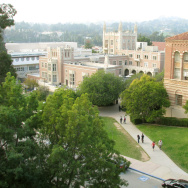 UCLA campus from roof of Mathematical Sciences building