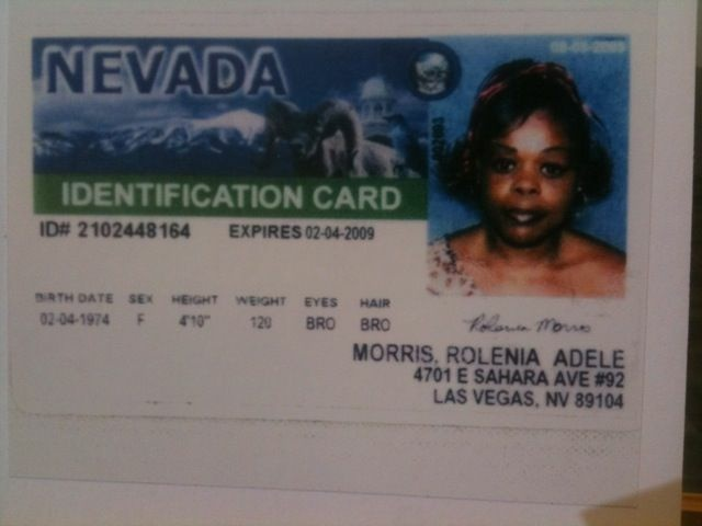29-year-old Rolenia Morris has been missing since September 2005. Los Angeles Police found her photo ID among a separate collection of photos in a refrigerator in Lonnie Franklin, Jr.'s garage.