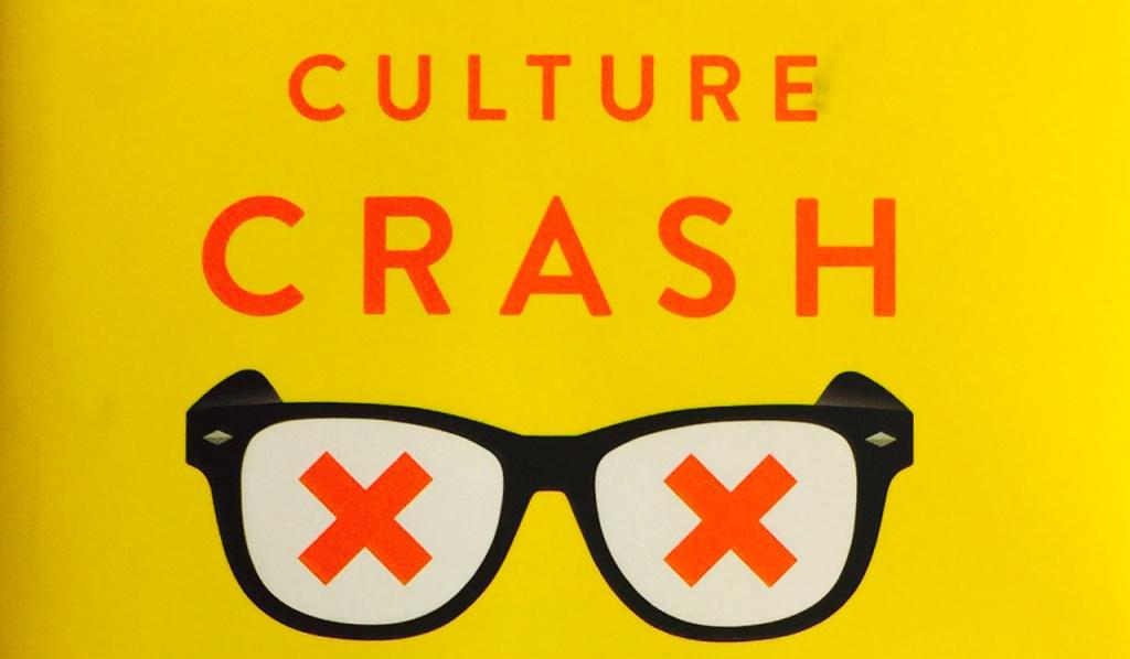 Cover art for Scott Timberg's new book, Culture Crash.