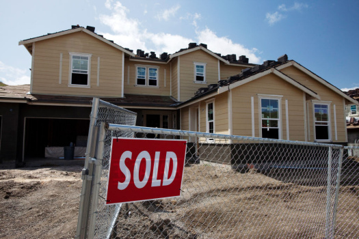 Sales Of New Homes Rise In March
