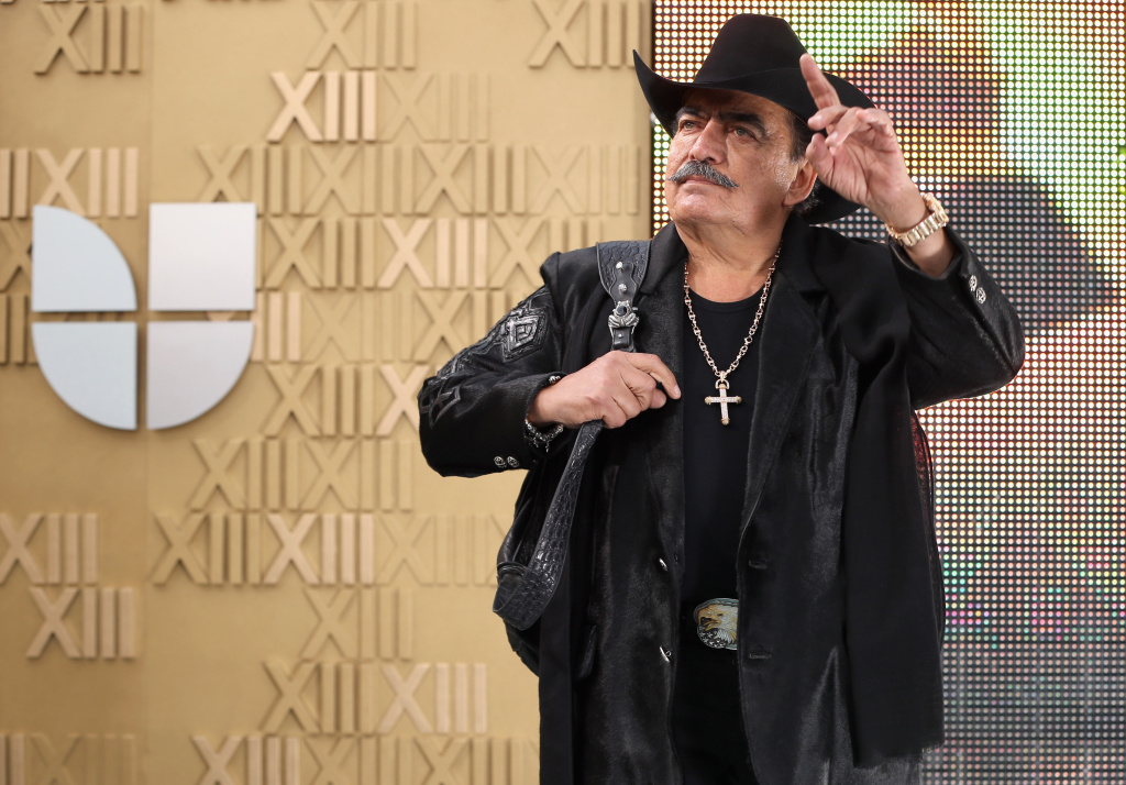 LAS VEGAS, NV - NOVEMBER 15:  Singer Joan Sebastian arrives at the 13th annual Latin GRAMMY Awards held at the Mandalay Bay Events Center on November 15, 2012 in Las Vegas, Nevada.  (Photo by Christopher Polk/Getty Images for Latin Recording Academy)