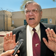 (FILES) Maricopa County Sheriff Joe Arpa