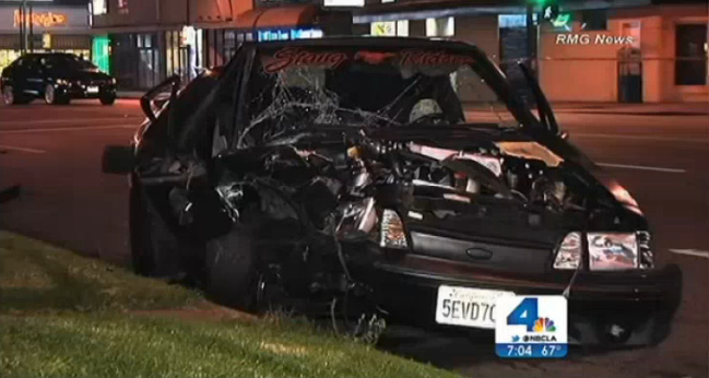 A crash in the Mid City area left 1 person dead and several others injured early Sunday, July 21, 2013.