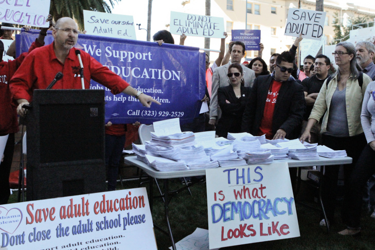 Adult Education Rally