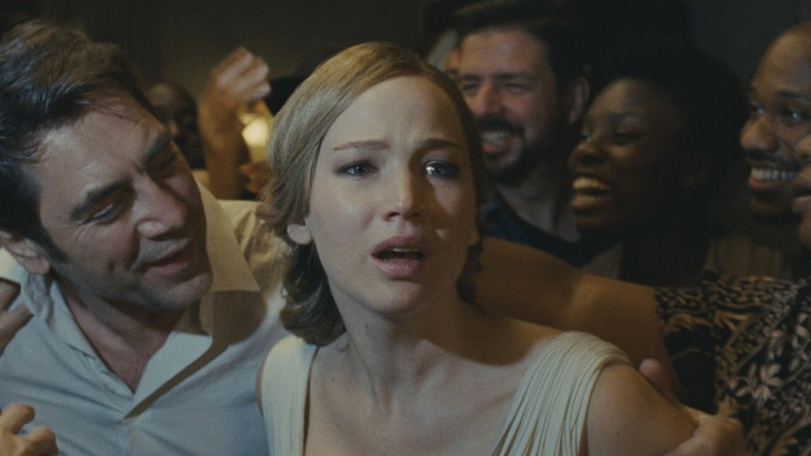 Jennifer Lawrence and Javier Bardem star in Darren Aronofsky's