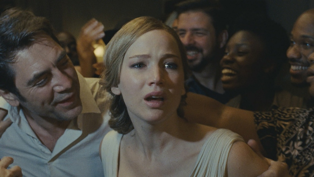 Jennifer Lawrence stars in director Darren Aronofsky's