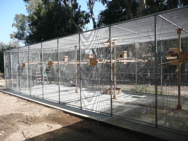 The Serenity Park Parrot Sanctuary.