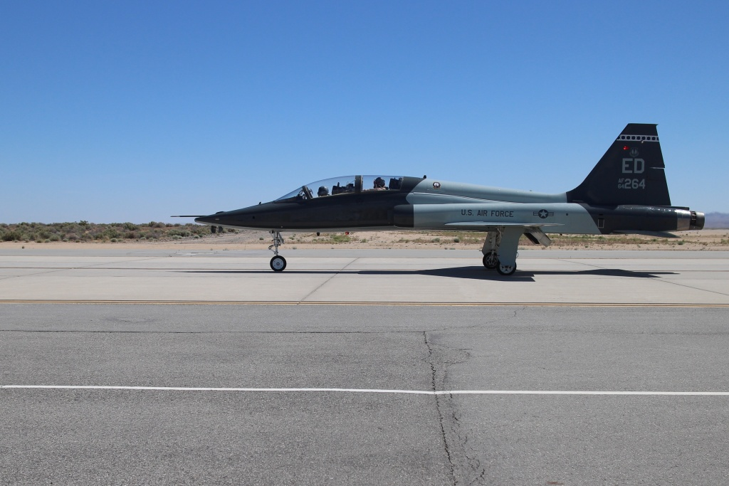 The U.S. Air Force Test Pilot School, at Edwards Air Force Base, 90 miles north of Los Angeles, prepares pilots for test missions for new aircraft and systems.