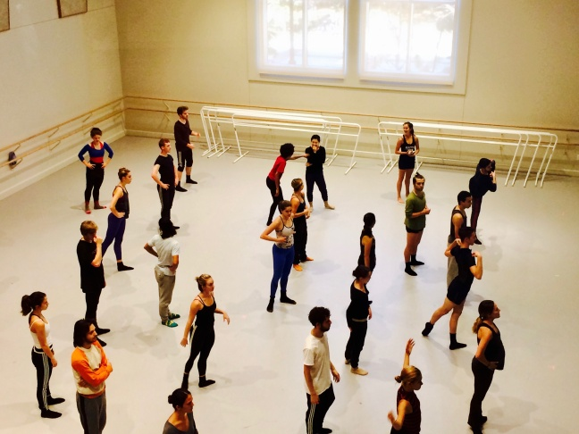 Ballet students work on moving their bodies more efficiently.