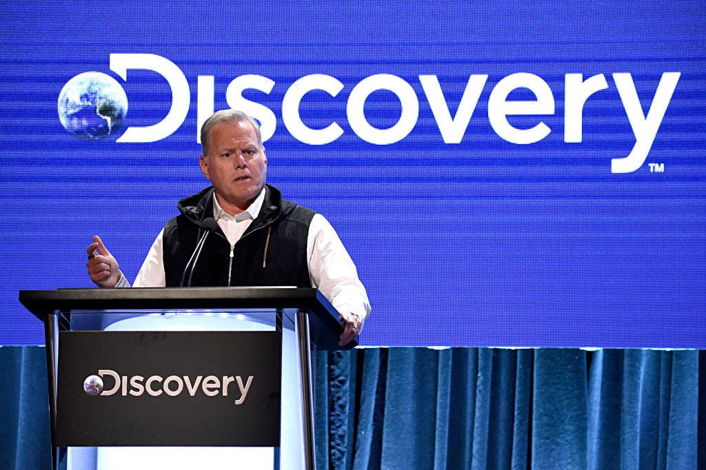 President and CEO, Discovery David Zaslav speaks onstage during the Discovery, Inc.'s Summer 2019 TCA Tour at The Beverly Hilton Hotel on July 25, 2019 in Beverly Hills, California.