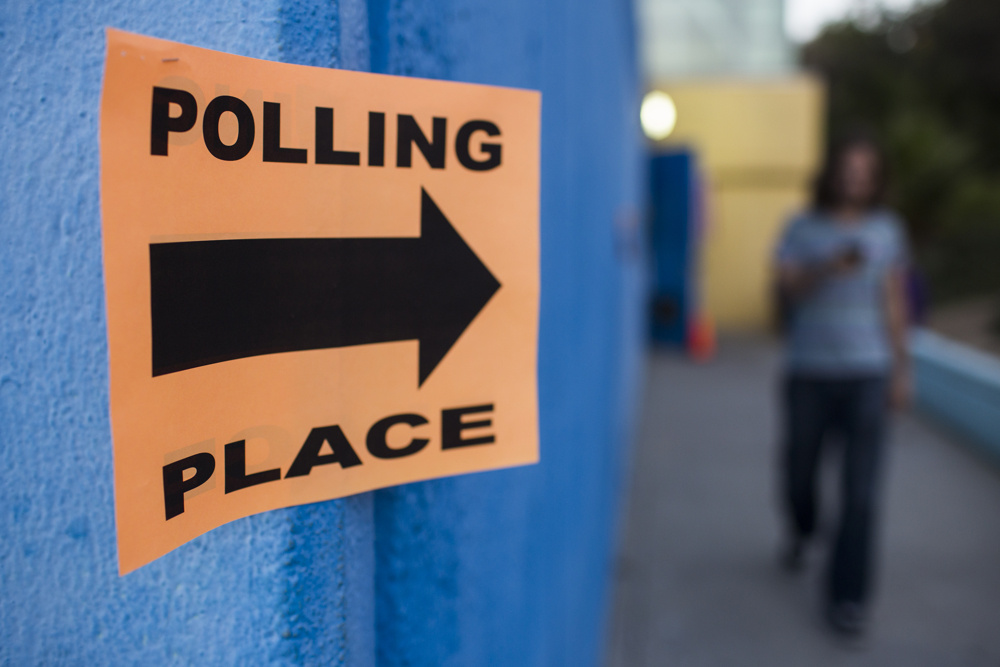 Los Angeles voters will decide who will fill two school board seats and two City Council seats on today. There's also one ballot measure before voters dealing with police misconduct panel rules.
