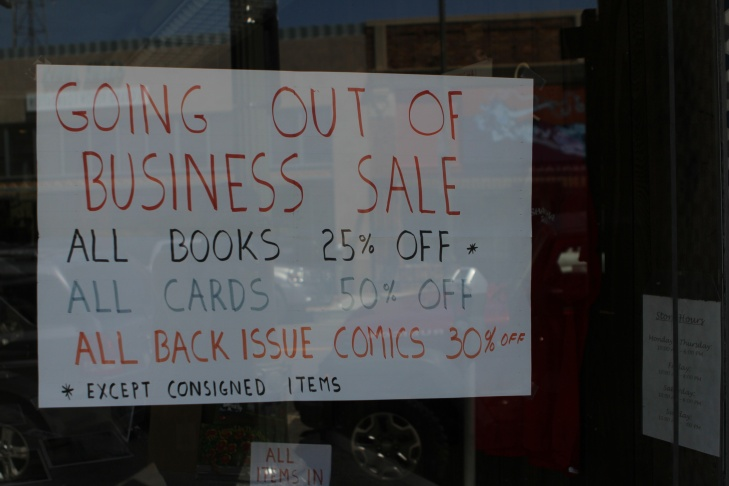 Williams' bookstore is closing after 104 years in business.