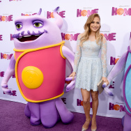 "Premiere Of Twentieth Century Fox And Dreamworks Animation's ""HOME"" - Red Carpet"
