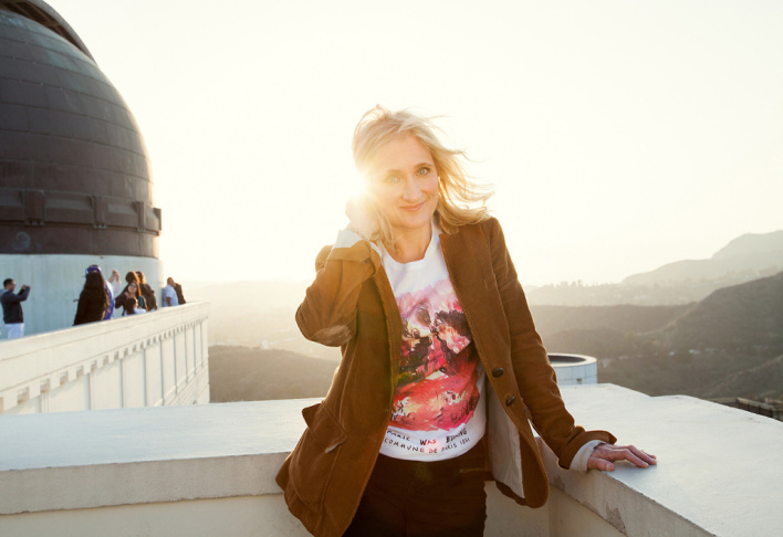 Jill Sobule at Griffith Observatory.
