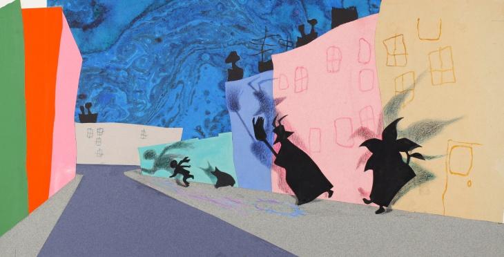 Cover art for Ezra Jack Keats' award winning children's book,