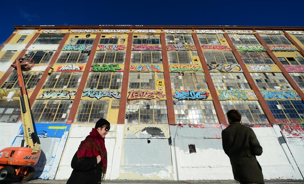 New York's graffiti iconic spot