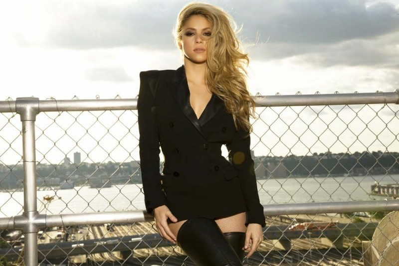 Shakira just put out an album for the first time in four years.
