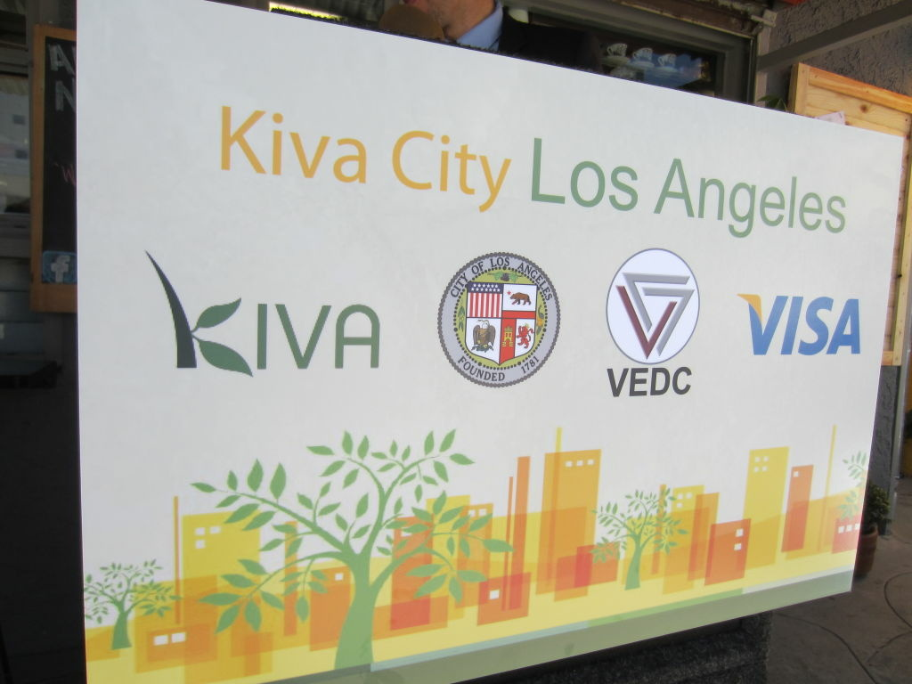 Los Angeles is the third in the Kiva City program, after Detroit and New Orleans.