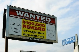 One of 300 billboards showing a