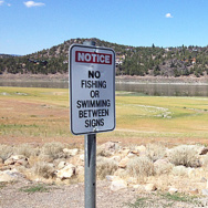 The city of Montague relies heavily on Lake Shastina, down 90 percent from normal this summer