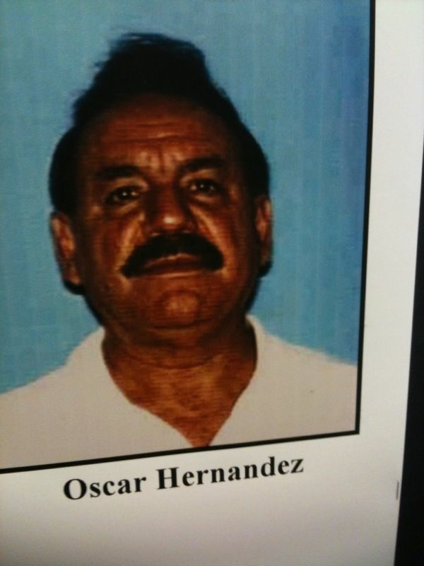 Bell Mayor Oscar Hernandez is one of eight current and former city officials charged with corruption.
