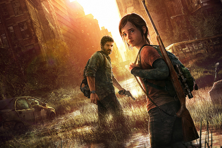 Still from the Naughty Dog game