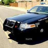 Mesa Police car.