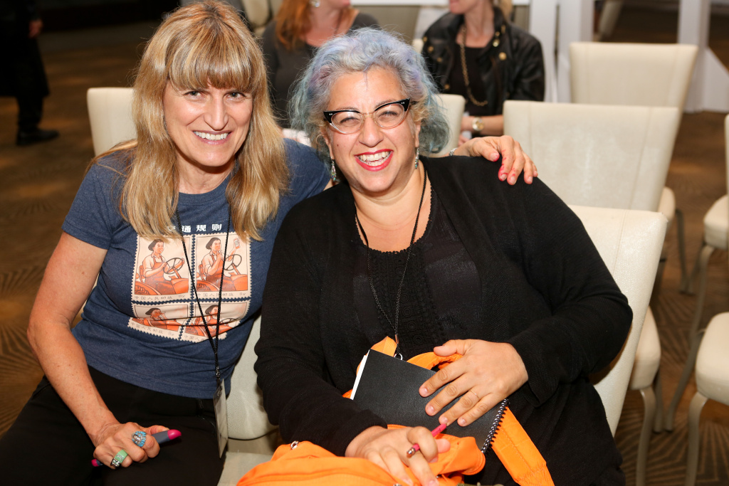 Left: Catherine Hardwicke- Director, Right: Jenji Kohan- Writer & Producer Tilted Productions Orange is the New Black (2013-) Weeds (2005-2012)
