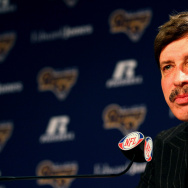 St Louis Rams Introduce Jeff Fisher