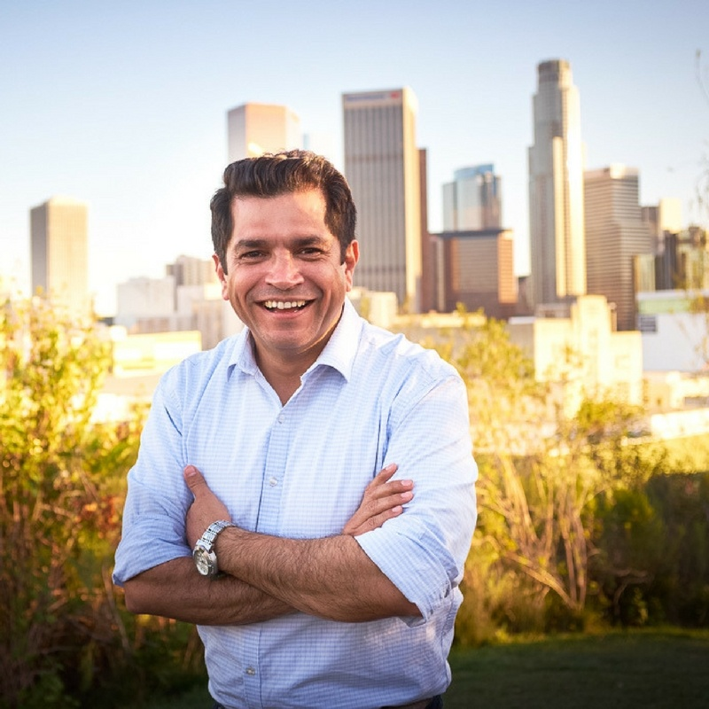 34th Congressional District Candidate Jimmy Gomez