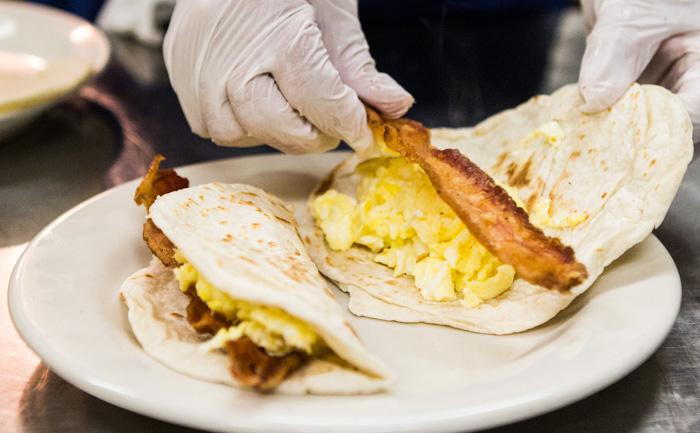 SXSW Breakfast Taco