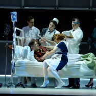 """Walt Disney's last days are imagined in the opera, """"The Perfect American."""""""