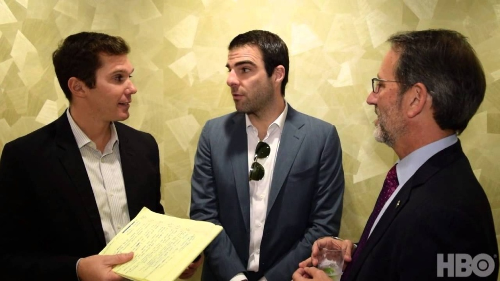 Real Time's Miles Leicher goes backstage with UC Irvine professor/NASA JPL Senior Water Scientist Jay Famiglietti and actor Zachary Quinto to discuss California's severe drought and test their water-saving knowledge with a quiz from Southern California Public Radio.
