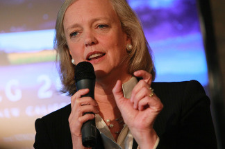 California Republican gubernatorial candidate and former eBay CEO Meg Whitman, March 18, 2010 in San Jose, California.