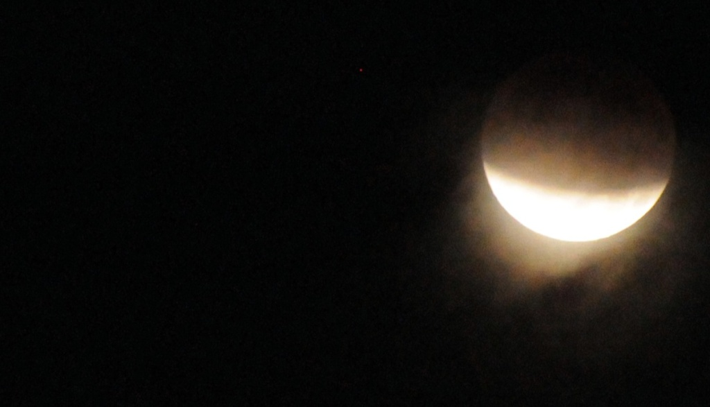 Lunar eclipse from the 90042 zip code at 5:30 a.m. Dec. 10, 2011.