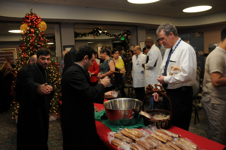 Armenian Christmas is celebrated at Glendale Adventist Medical Center, Jan. 5, 2012.